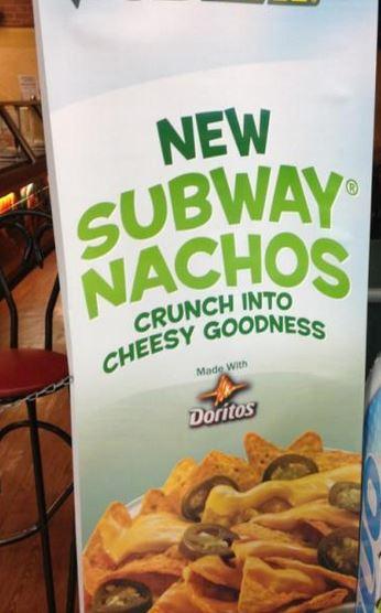 subway nachos