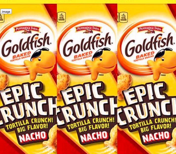 goldfish nachos