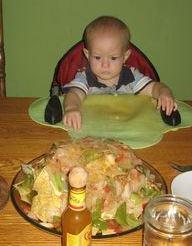 baby nachos